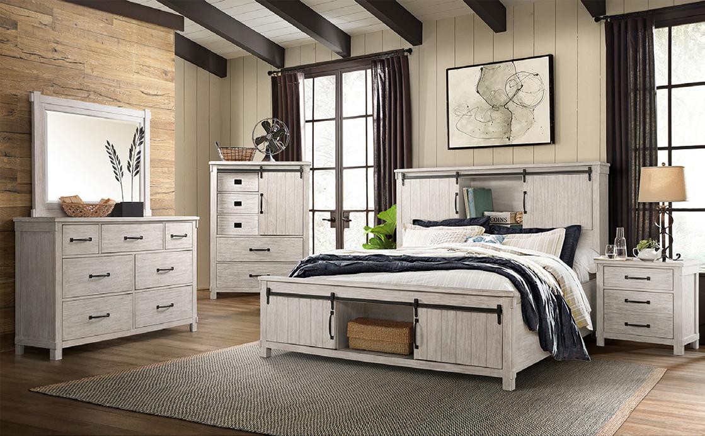 Scott White Bedroom