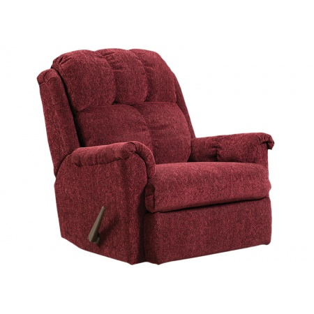 American Furniture 2100 Tahoe Wine Rocker Recliner