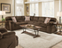 Simmons Furniture 8043 Dover Coffee Sectional